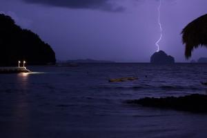 Palawan - philippines - thunderstorm