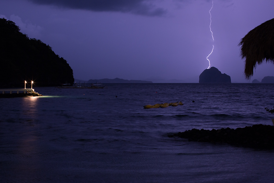 Palawan - philippines - thunderstorm